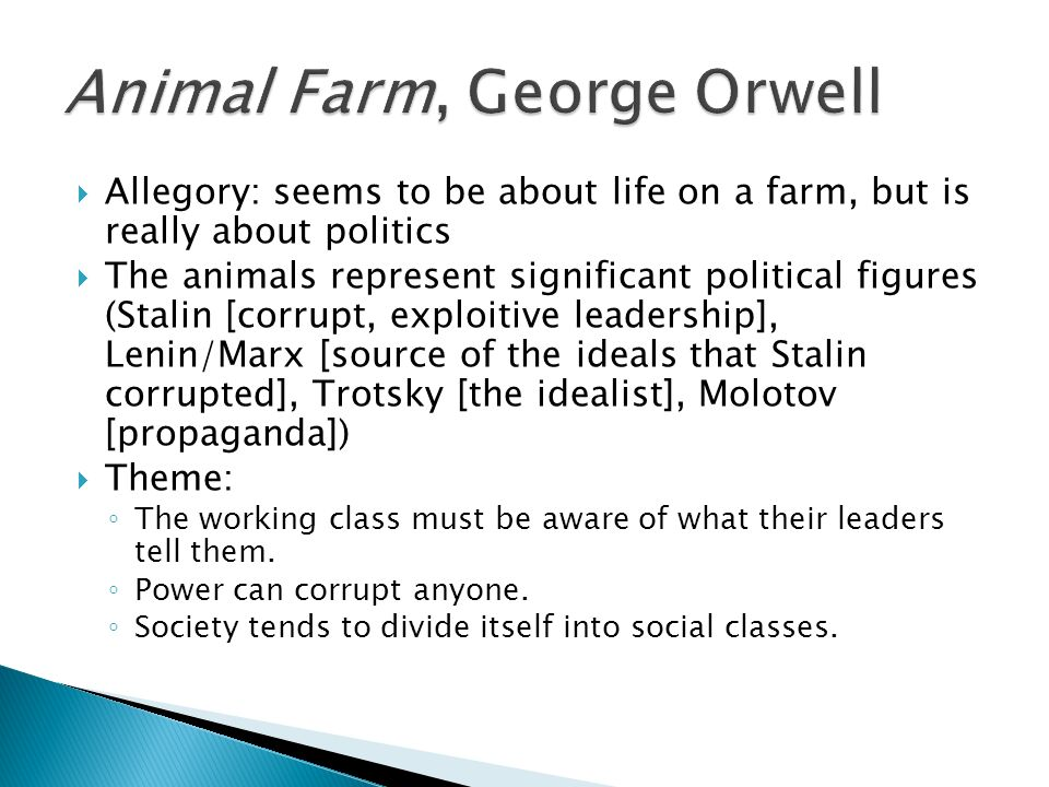 macbeth and animal farm analysis essay Free essay: animal farm as a fable traditional fables are moral stories that usually feature animals aesop's fables  macbeth and animal farm analysis essay.