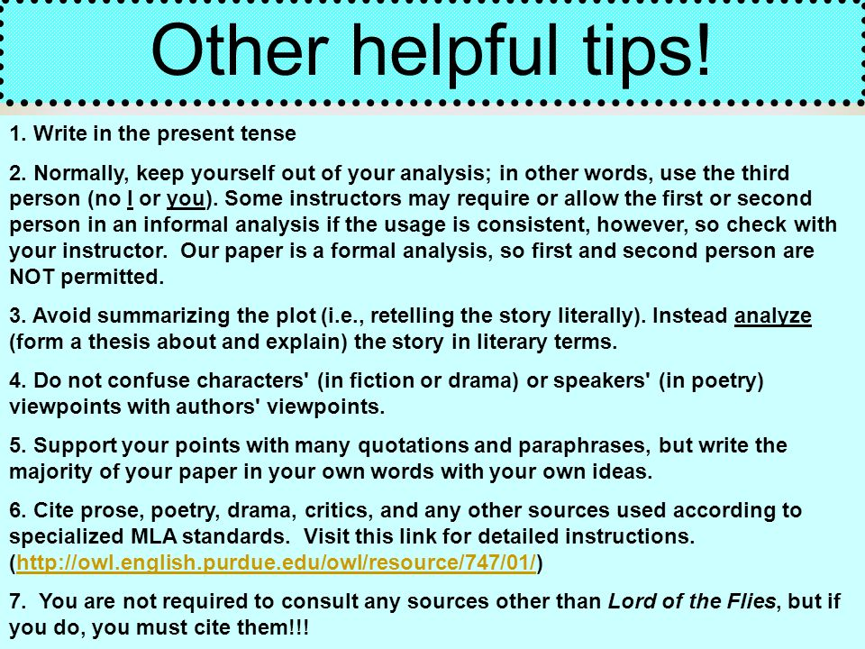 literary essay on a story of Literature (fiction) what this handout is about this handout describes some steps for planning and writing papers about fiction texts for information on writing.