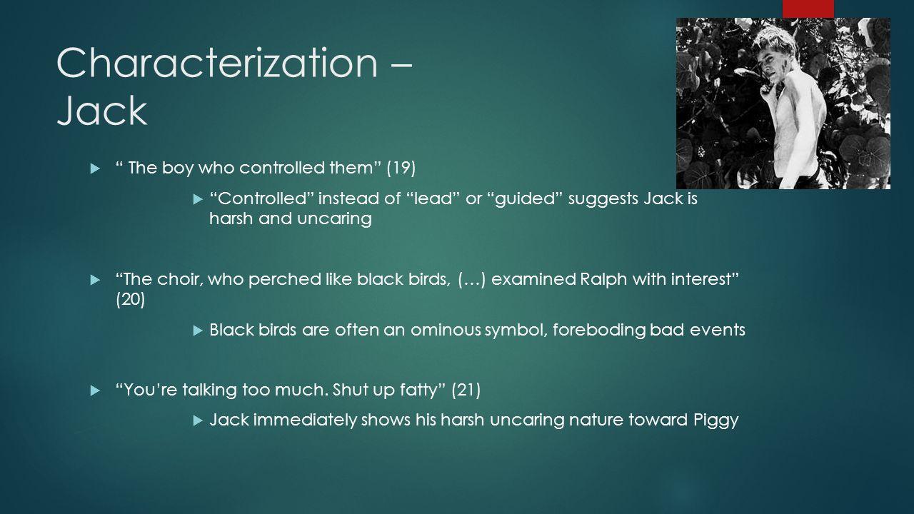 Characterization – Jack