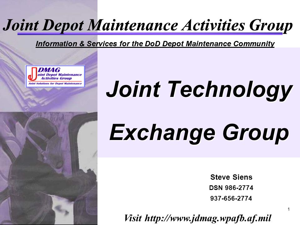 Joint Technology Exchange Group Ppt Video Online Download