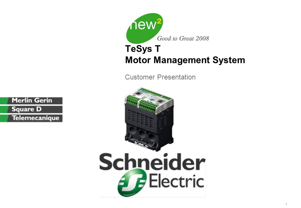 Tesys T Motor Management System Ppt Video Online Download