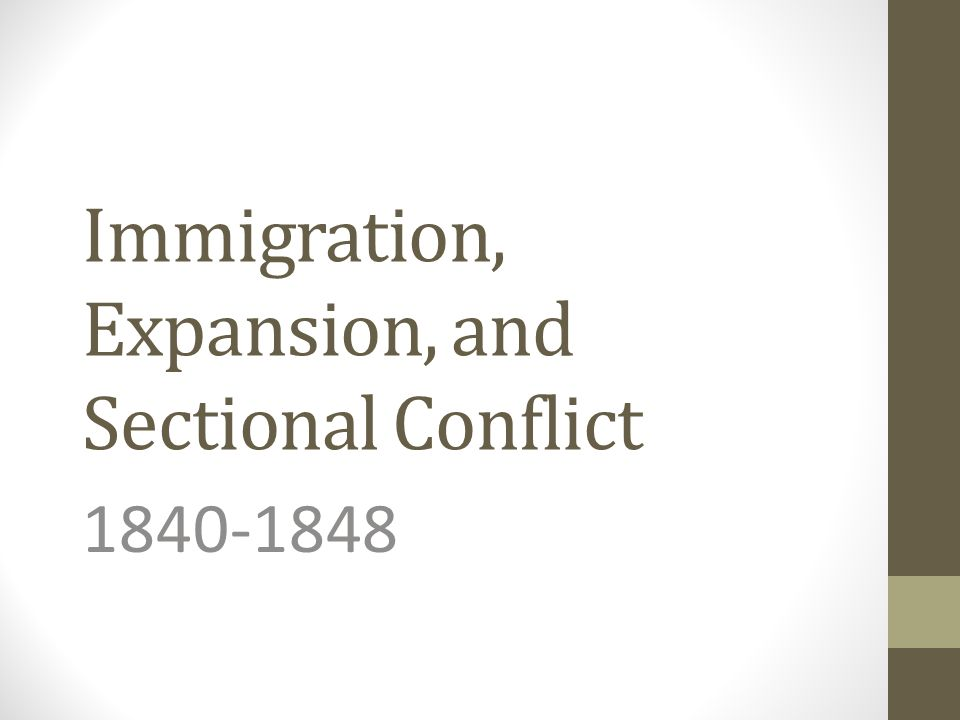 immigration conflict To solve the immigration conflict in the us, just look to the constitution opinion featured immigration international relations by guest contributor last updated apr 17, 2017.
