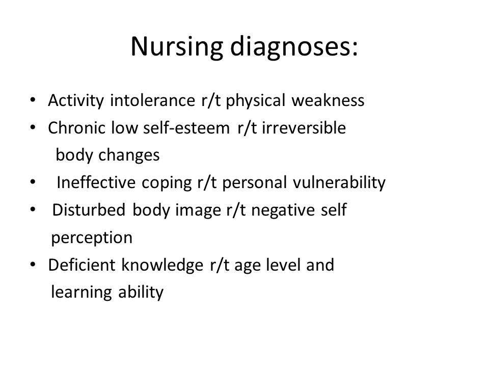 the body of knowledge in nursing Deficient knowledge: absence or deficiency of cognitive information related to specific topic a lack of cognitive information or psychomotor ability needed for health restoration.