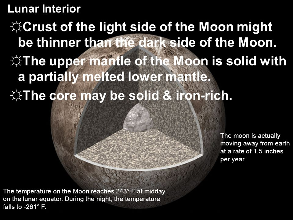The core may be solid & iron-rich.
