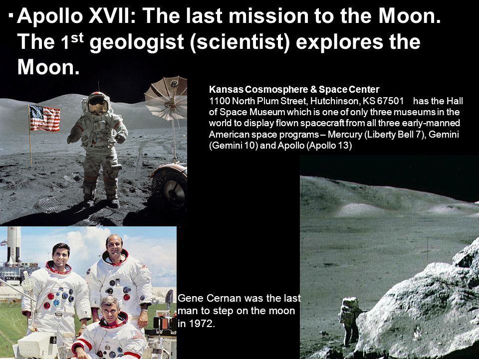 Apollo XVII: The last mission to the Moon