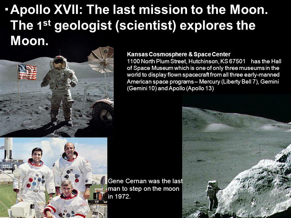 Apollo XVII: The last mission to the Moon