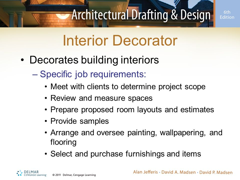 10 Interior Decorator Decorates Building Interiors Specific Job Requirements