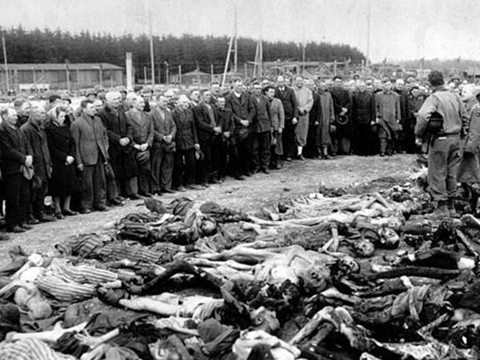 EFFECTS Holocaust- Six million Jews die in death camps and Nazi massacres