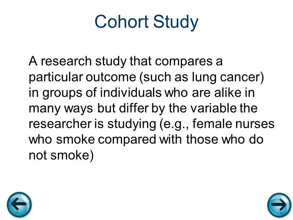 how to determine cofounders cohort study