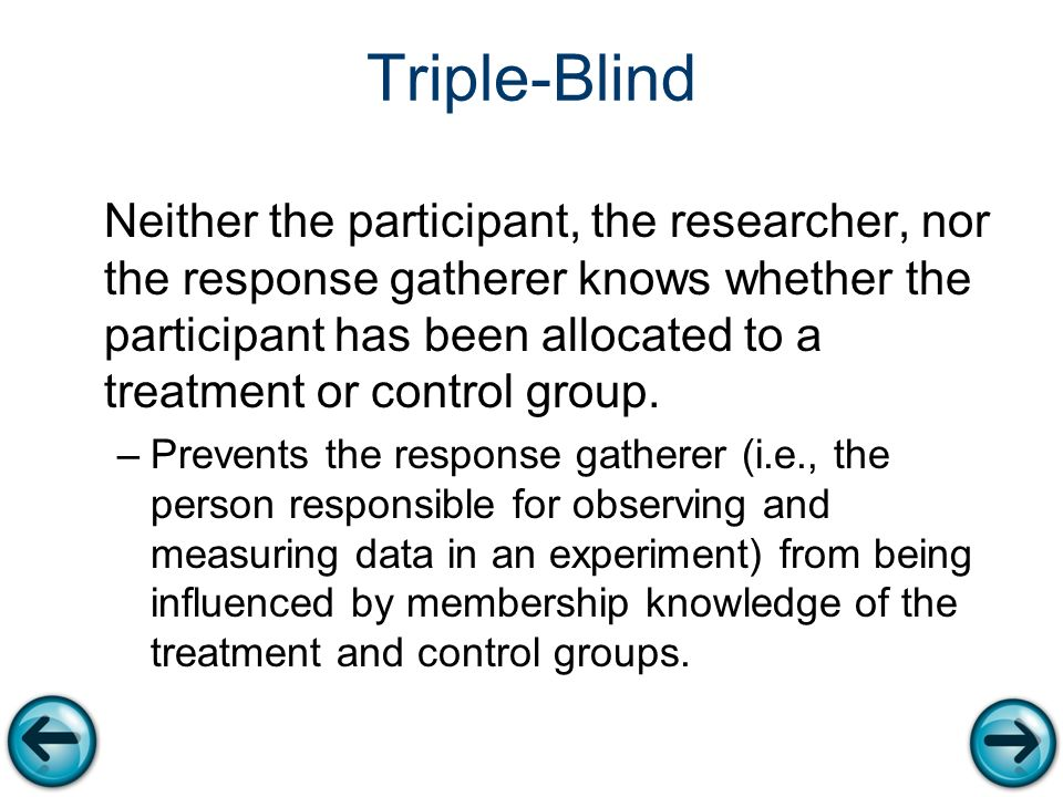 Triple-blinded study | definition of triple-blinded study ...
