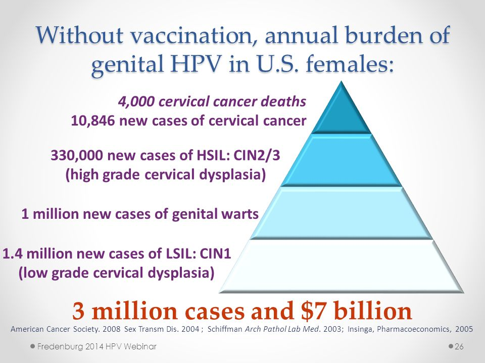 Cervical cancer without hpv