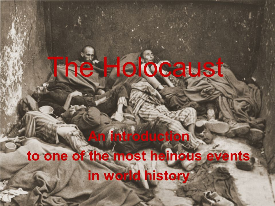 an introduction to the history of the holocaust in world war two The holocaust: an introduction - part 2 part 2 of 2 this course depicts the complex history of the holocaust, highlighting its impact on our world today.