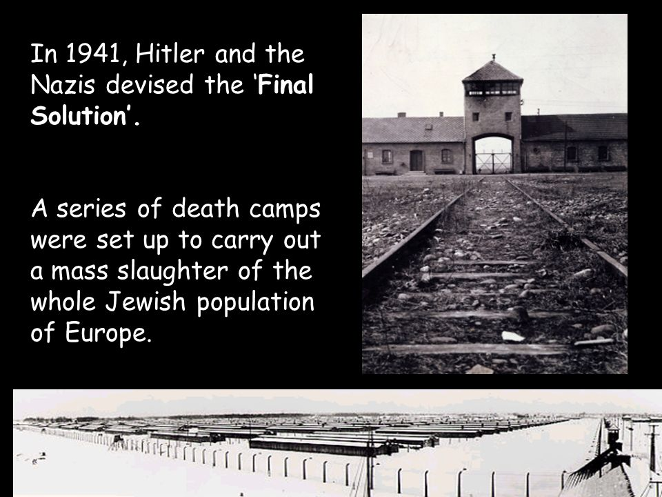final solution the jewish persecution by the nazis The destruction of the european jews raul  structure in the prosecution of the 'final solution ', which  reaction of the nazis' jewish.