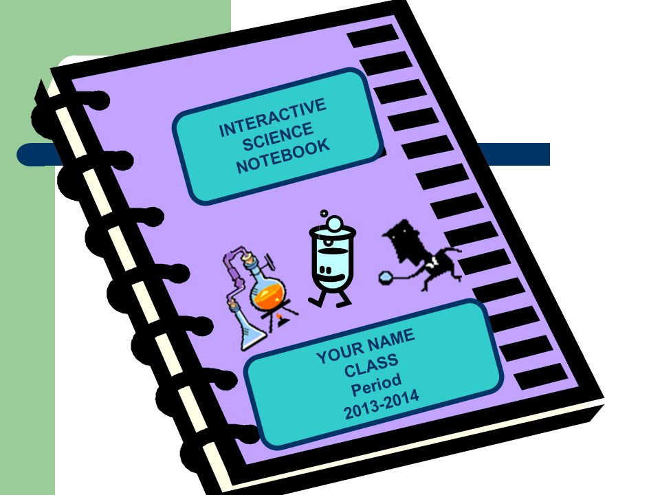 INTERACTIVE SCIENCE NOTEBOOK YOUR NAME CLASS Period