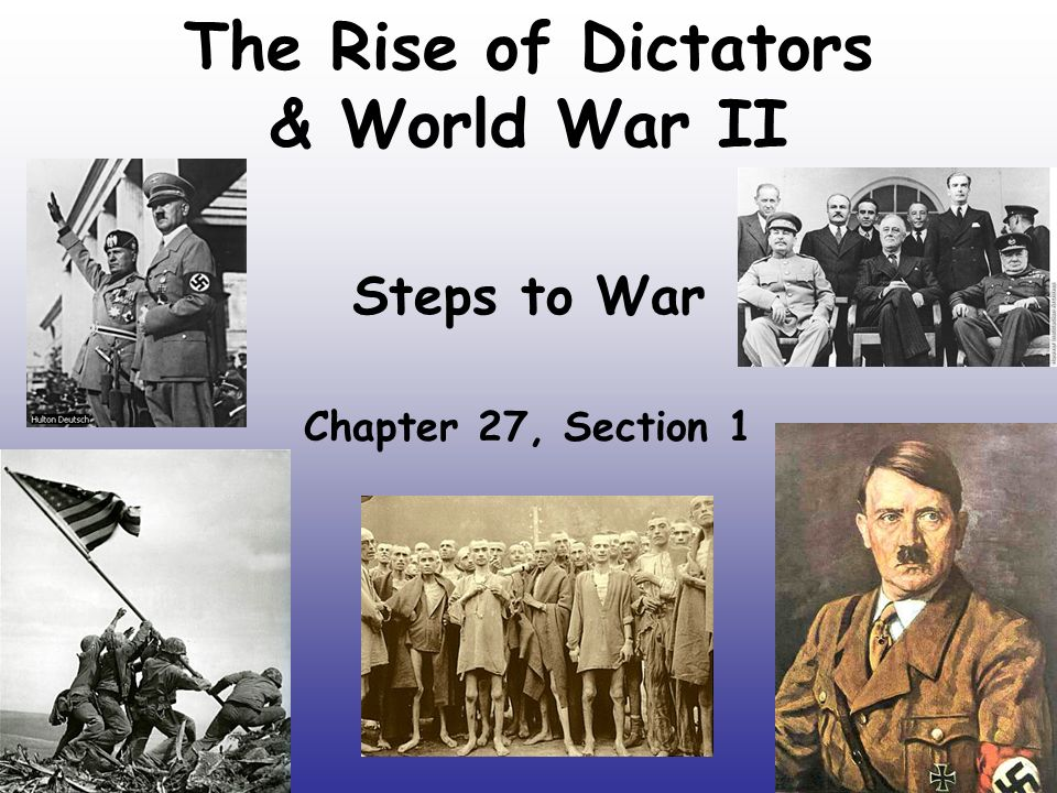 rise of dictators notes Many causes exist that led to the rise of dictatorships after wwi after the war, russia, italy, and germany found themselves in situations that allowed dictators to rise to power the countries were all in extreme situations, both economically and politically, that became a fertile ground for.
