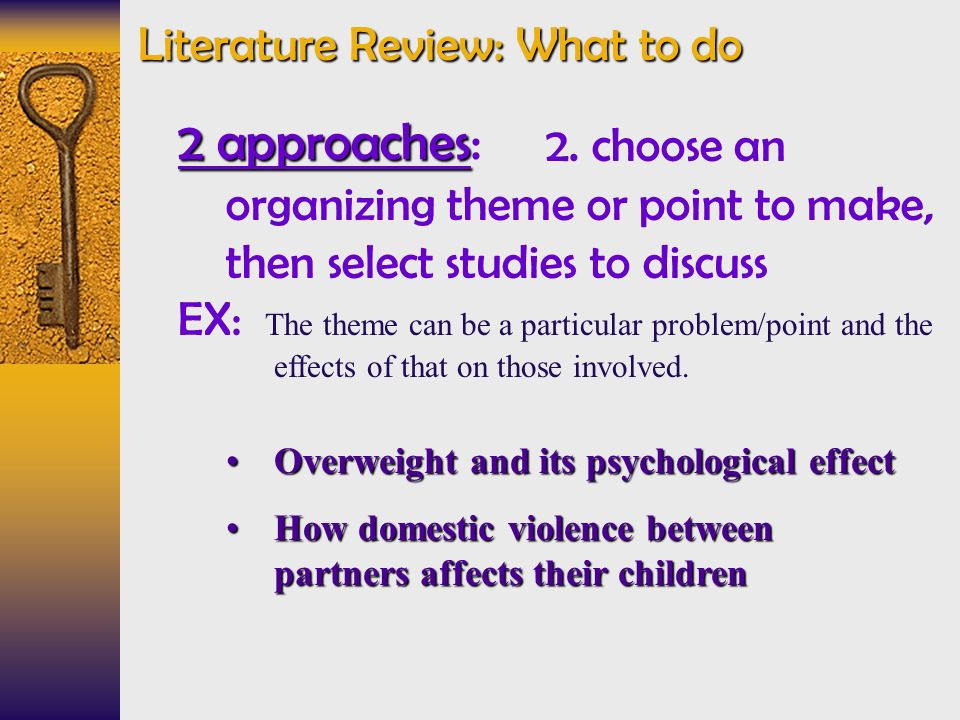 the literature review what is it and why do it The one thing that's missed from this post is the role of the librarians while the post mentions the research training team, i think this overlooks the hugely helpful role librarians, research trainers, and academic skills advisors etc can play.