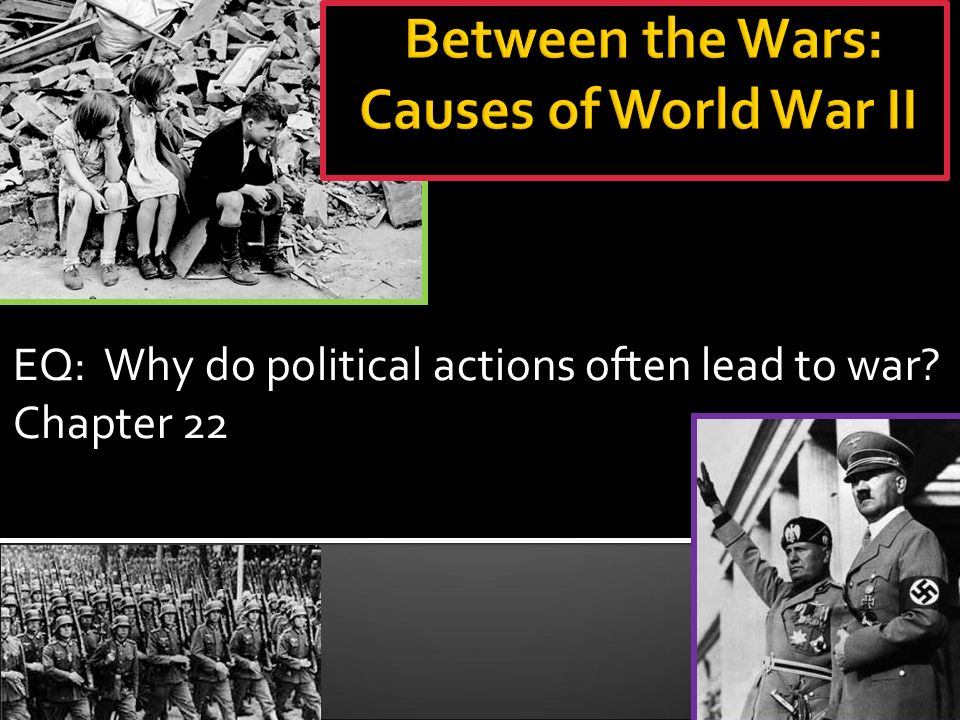 exploring the many causes of world war ii An essay or paper on the six major causes of world war ii out of all the wars that the world has gone through, none has been more devastating as world war ii but what caused this war.
