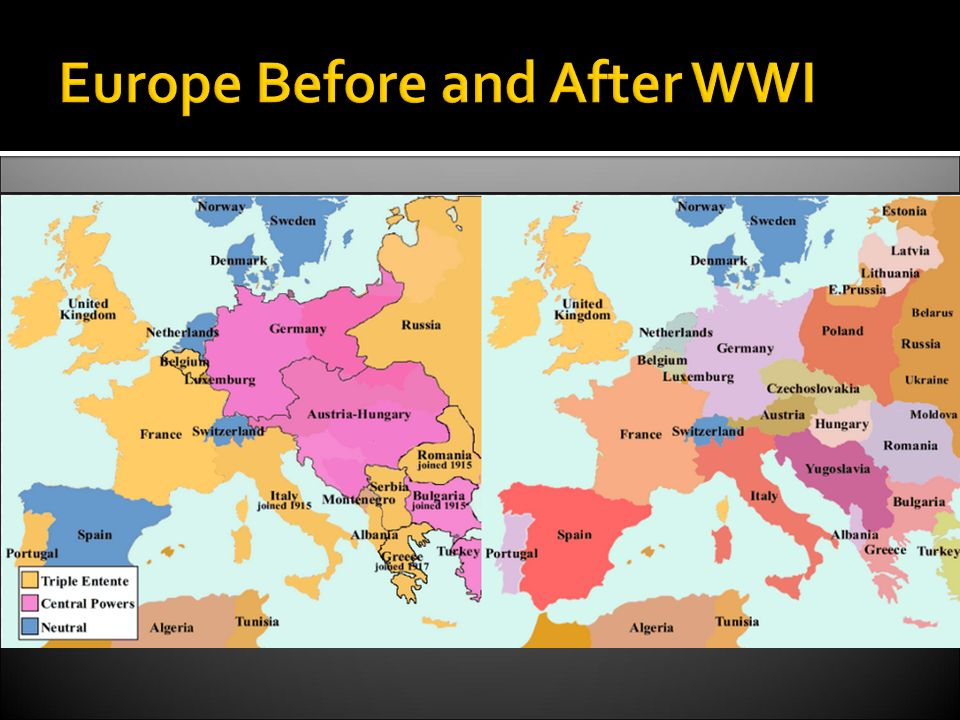 Difference Between World War 1 and World War 2