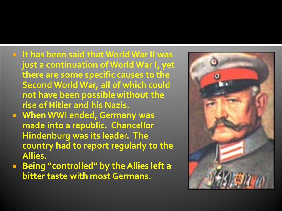 the reasons why the second world war was hitlers war On this day, adolf hitler declares war on the united states, bringing america, which had been neutral, into the european conflictthe bombing of.