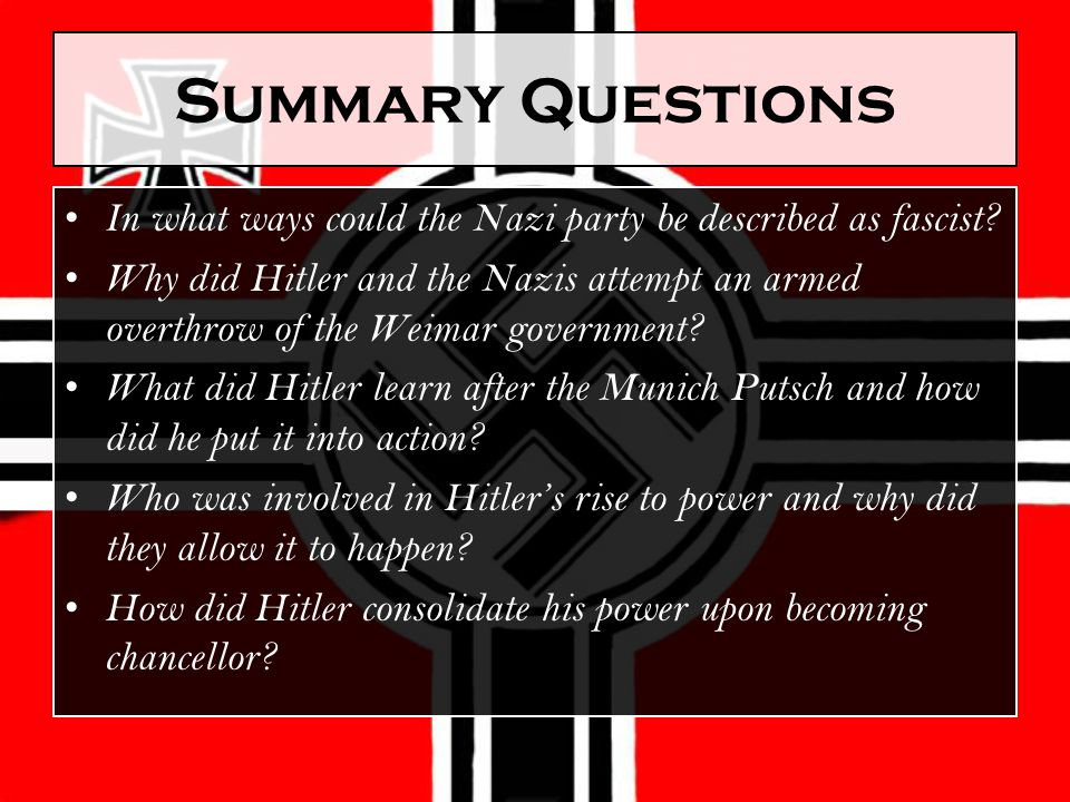 """how successfully did the nazi regime How successfully did the nazi regime mobilise german youth in the years 1933-1939 """"education begins when the youngest national socialist stands on the streetin uniform."""