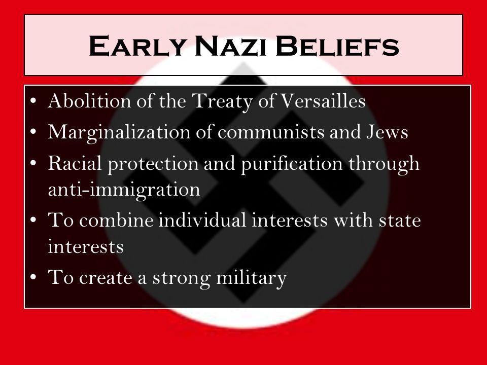 nazi beliefs Q: being american citizens, do you connect more with your american heritage or your aryan ethnicity or is there no line at all drawn between the two.