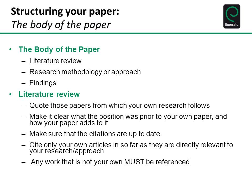 Writing For Publication Ppt Download