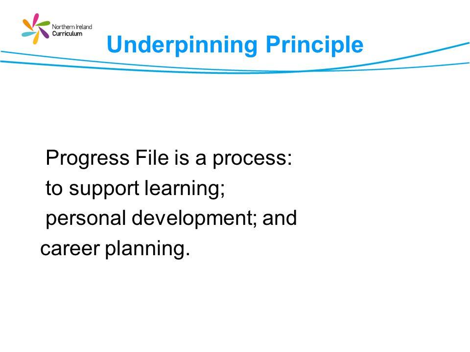 Underpinning Principle