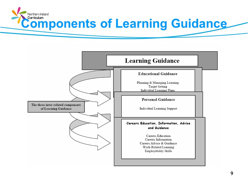 Components of Learning Guidance