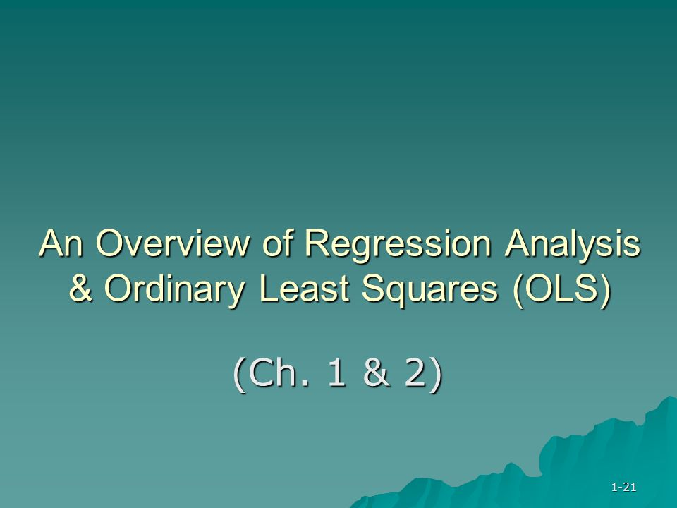 regression analysis term papers In reality, a regression is a seemingly ubiquitous statistical tool appearing in legions of scientific papers, and regression analysis is a method of measuring the link between two or more phenomena imagine you want to know the connection between the square footage of houses and their sale prices.