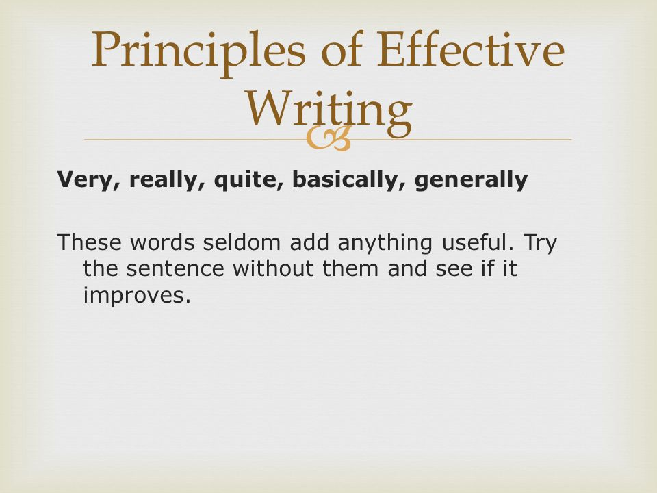 effective writing skills For accountants, effective writing skills can be as important as the ability to crunch the numbers your professional development and competitive edge depend.