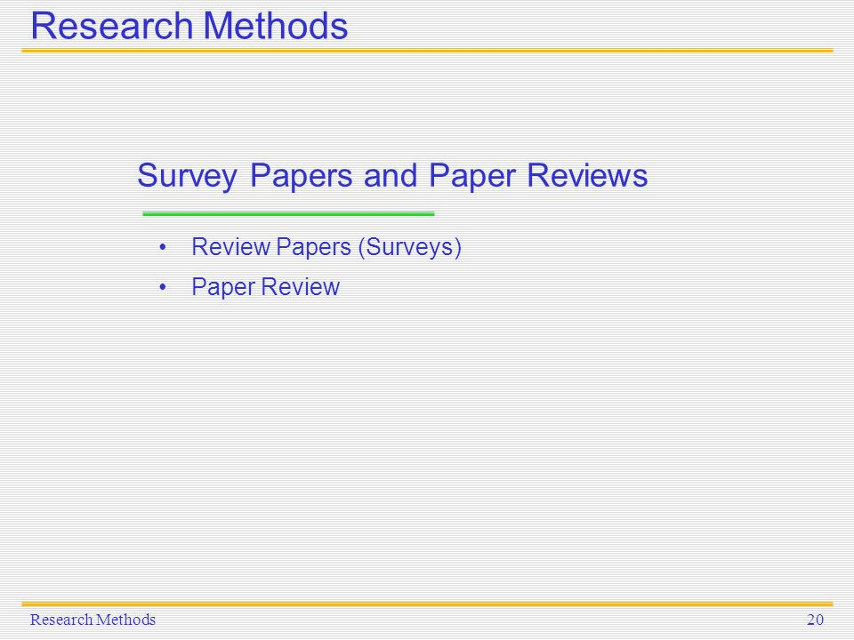 paper on research methods Research methods 1 quantitative and qualitative research methods brigitte lepine university of calgary since then the critical researchers focus on a worldview.