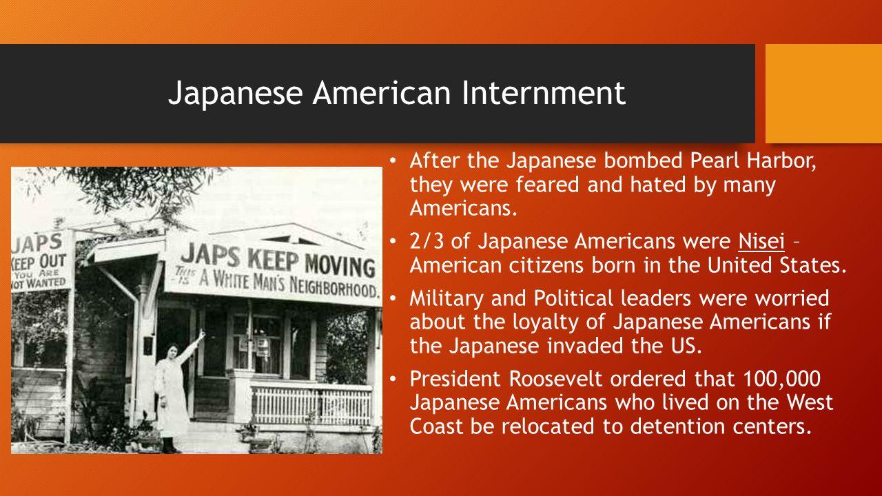world war ii internment of japanese americans
