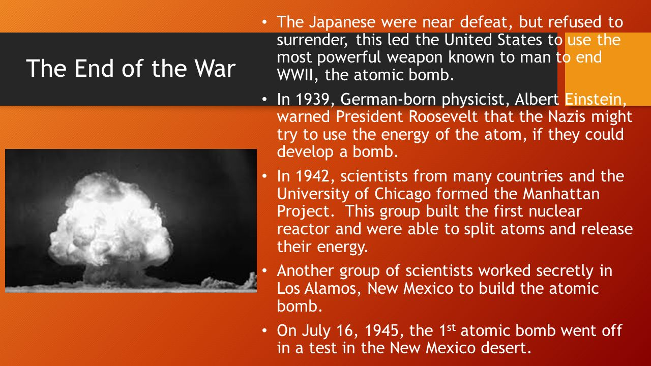 a history of the manhattan project and the atomic bombing The role of the manhattan project in the history of the united it was renamed manhattan an atomic bomb was considered a primary alternative to the.