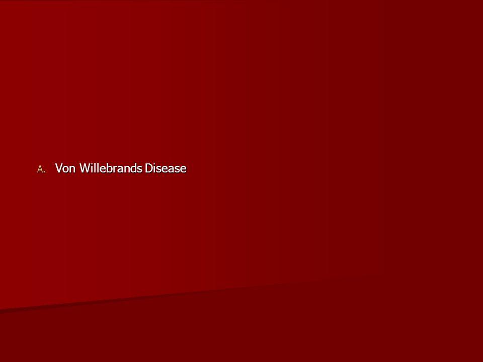 Von Willebrands Disease