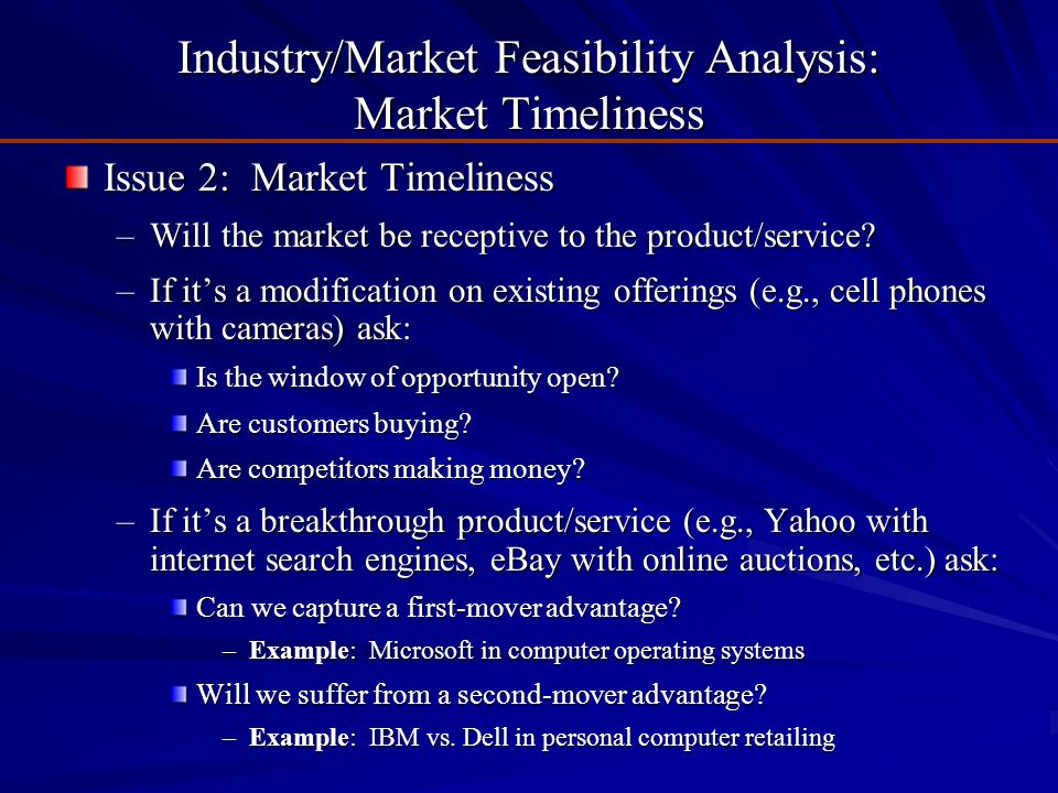 Introduction to Feasibility Analysis - ppt download