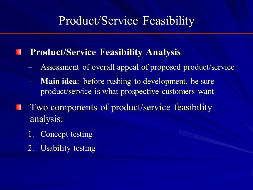 What Is the Purpose of a Project Feasibility Study?