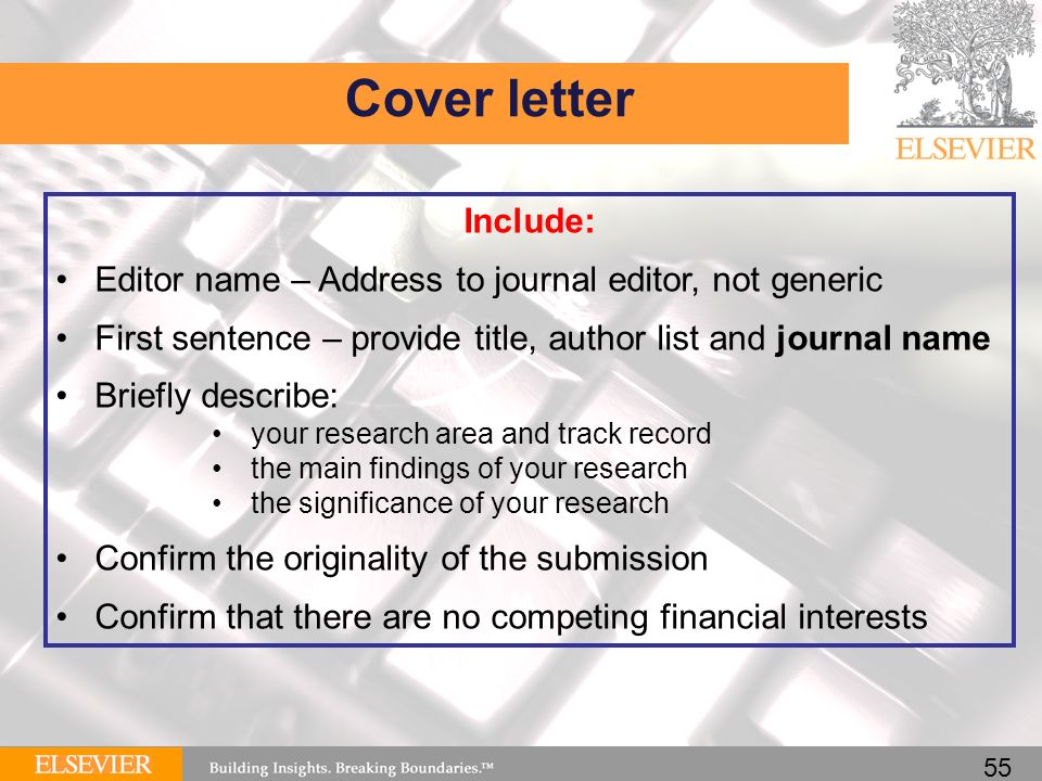 How To Write A Great Cover Letter For A Scientific Manuscript AppTiled Com  Unique App Finder