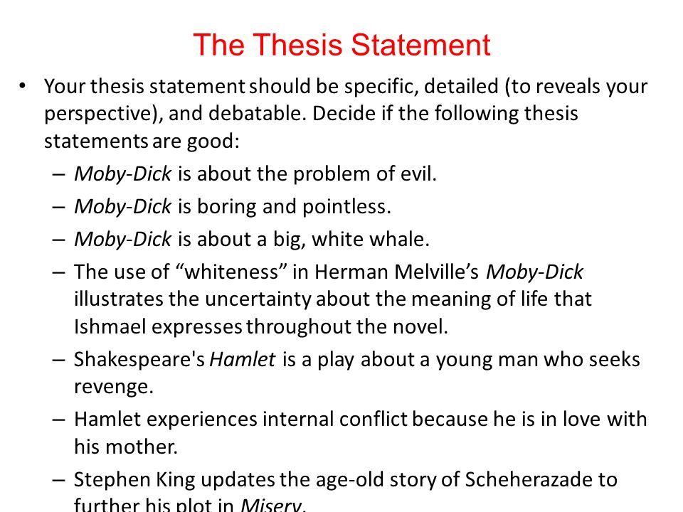 internal conflict thesis statement Use the template below to use for your thesis statement: thesis template : the reader knows that the character (character name) experiences internal conflict in the book (title) through experiences with (problem #1, problem #2, and problem #3.