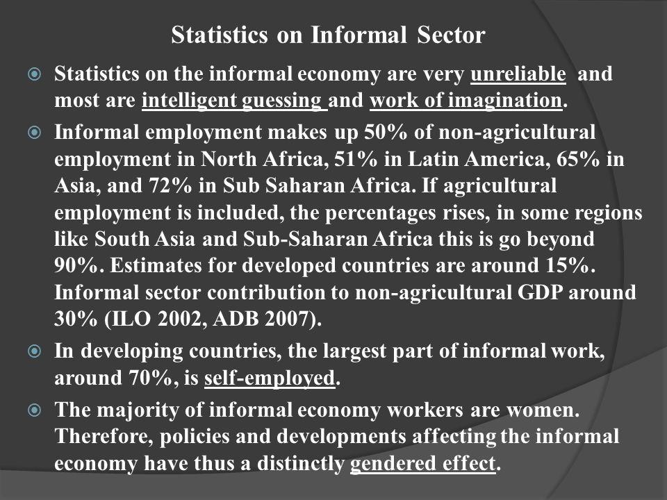 Statistics on Informal Sector