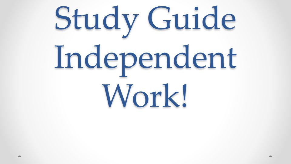A GUIDE TO LEARNING INDEPENDENTLY BOOK BY PEARSON …