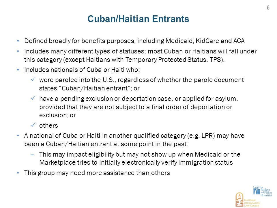 Overview of Immigrant Eligibility Policies and Enrollment ...