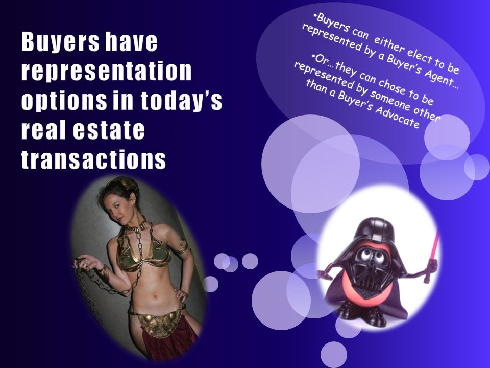 Buyers have representation options in today's real estate transactions