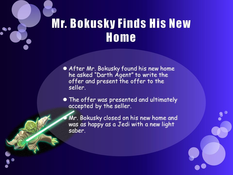 Mr. Bokusky Finds His New Home