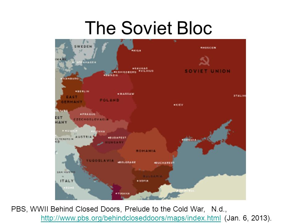 The Soviet Bloc Pbs Wwii Behind Closed Doors Prelude To The Cold War