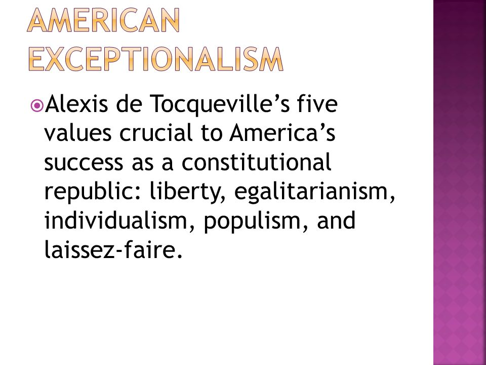 american exceptionalism ppt video online  american exceptionalism
