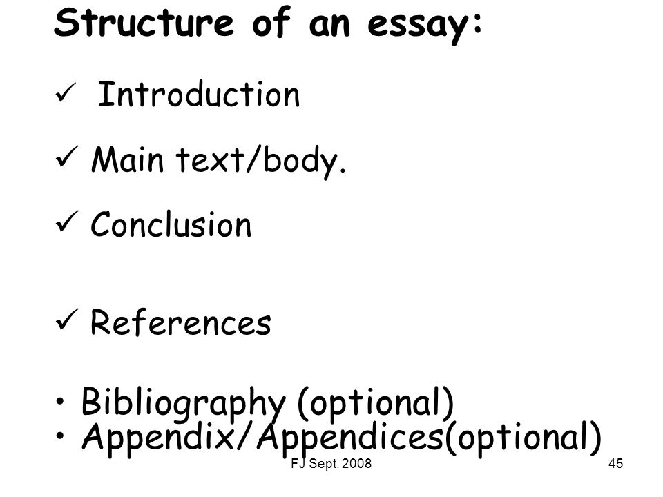 how to add appendix in essay
