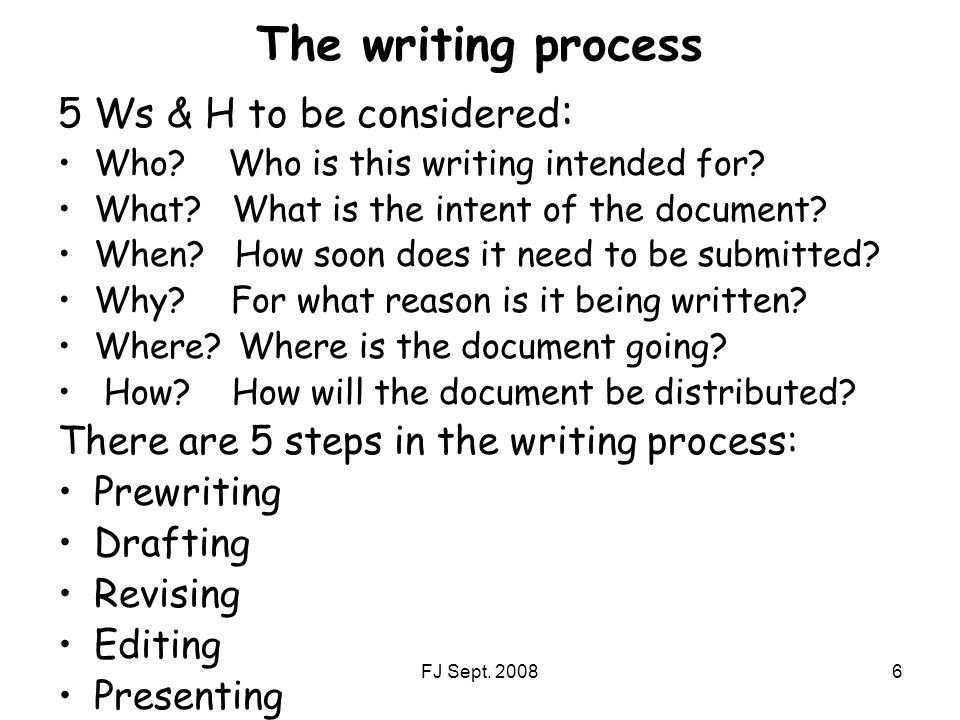 writing process 5 steps Being conscious of your own writing process is especially helpful when you find yourself struggling with a particularly tricky piece here are five steps towards.
