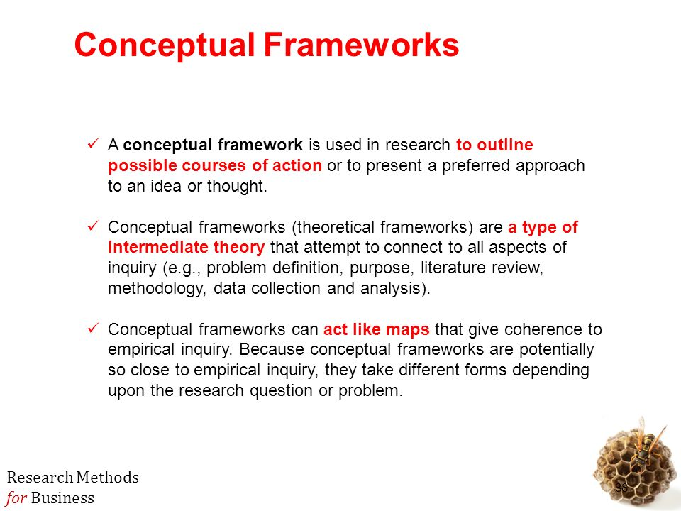 write conceptual framework research paper Conceptual framework vs theoretical framework conceptual framework and the theoretical framework of their thesis, a required section in thesis writing that serves as the students' map on their first venture into research the conceptual framework is almost always confused with the theoretical framework of the study.