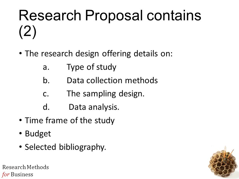 Research Proposal Topics