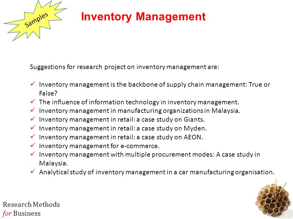 Inventory Management and Warehouse Operations Links